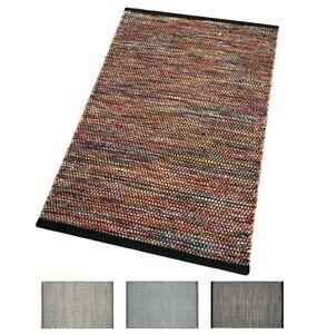 Tappeto-multicolore-cucina-salotto-bagno-morbido-lana-cotone-elegante-moderno