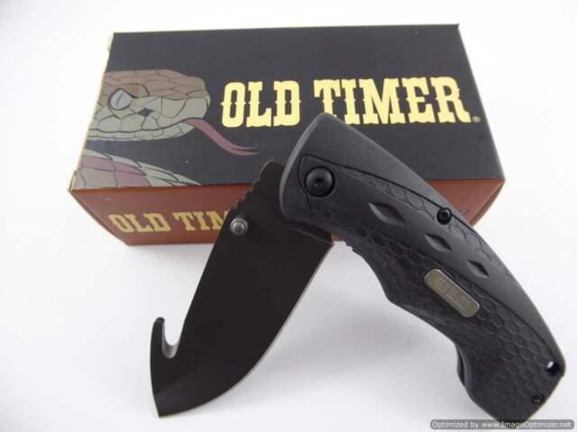 Old Timer Copperhead Guthook Skinner Knive Schrade 2148OT Hunting knife