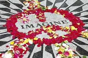 Lennon-Memorial-Imagine-Maxi-Poster-91-5cm-x-61cm-new-and-sealed