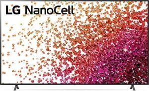 "LG 75NANO759PA  NanoCell 4K / UHD Smart TV (Web OS)  191 cm (75"") HDR"