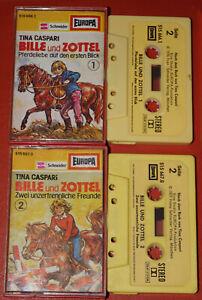 MC-KASSETTE-Bille-und-Zottel-1-2-EUROPA-Tina-Caspari-G-G