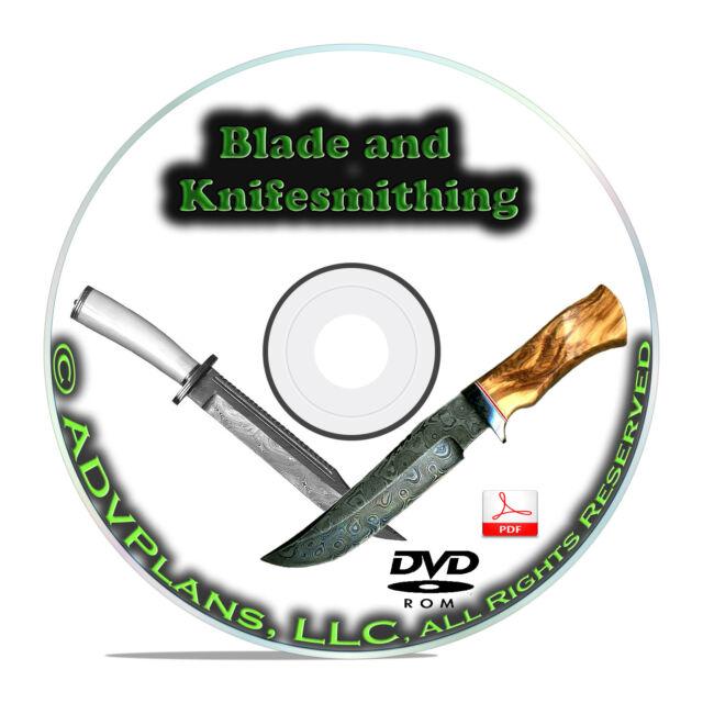 Bladesmithing Library Collection, apprendre à faire des couteaux, livres DVD vidéo B73