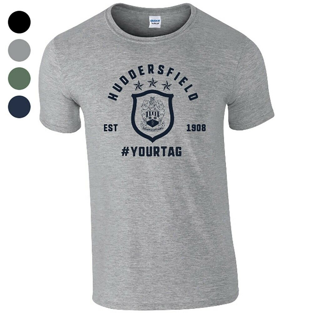 Huddersfield Town A.F.C - Personalised Mens T-Shirt (VINTAGE #)
