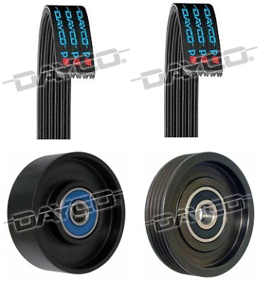 Belt /& Pulley Kit for Nissan Navara D40 2.5L TD YD25DDTi Spain 2010-on