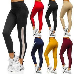 Leggings-Trainingshose-Leggins-Hose-Fitness-Sporthose-Damen-Mix-BOLF-Jogging