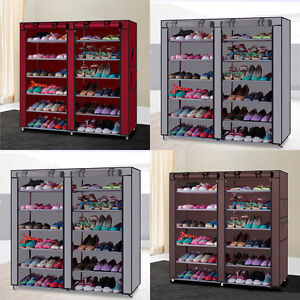 Image Is Loading Rack Shoe Organizer Storage Shelf Closet Tier Cabinet