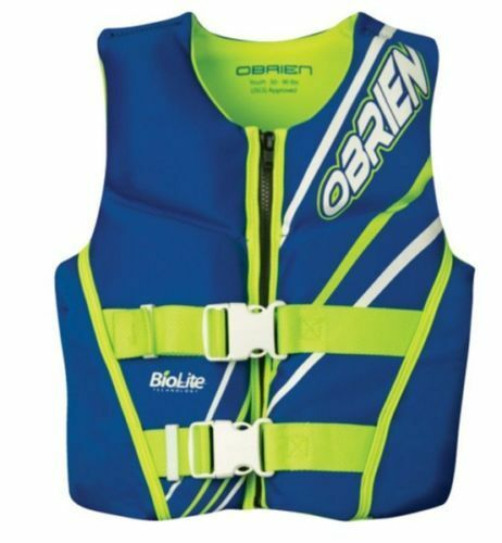 O'Brien Youth Neo Watersports Buoyancy Vest blueeE
