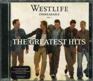 WESTLIFE-034-Unbreakable-Vol-1-The-Greatest-Hits-034-CD-Album