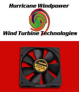 12 Volt Dc Square Cooling Fan 105 Cfm Solar Panel Pv
