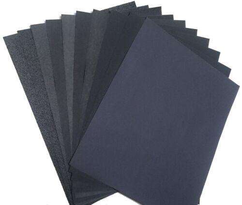 "10 Sheets OSLONG Premium Latex Back Sandpaper Wet Dry 9/"" x 5.5/""  80-2000 grits"