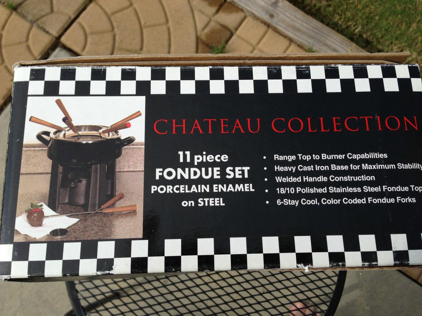 Chateau Collections 11 Piece Ensemble à Fondue