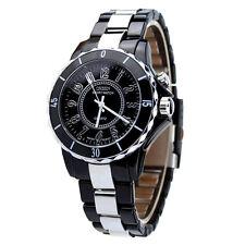 OHSEN Damen Luxus Wasserdichte Sport Uhr LED Licht Taktgeber Uhr Schwarz 4.0 cm