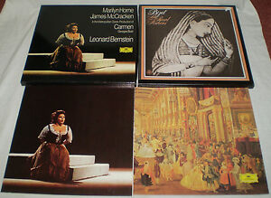 TWO-BIZET-RECORD-SETS-MARILYN-HOME-amp-JAMES-McCRACKEN-CARMEN-amp-THE-PEARL-FISHERS