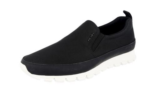 new concept 48403 09b32 41 7 Luxus Sneaker Schwarz Neu Prada 5 41 Schuhe Running 4d2991 10HfzF4