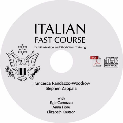 MP3 Audio Learn to Speak ITALIAN Language Training Course PDF Text on CD