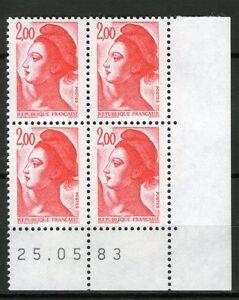 TIMBRE-N-2274-NEUF-XX-LUXE-COIN-DATE-DU-25-05-83-LIBERTE-DE-GANDON
