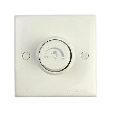 Practical Rotating Triac LED Dimmer Switch Wall Socket for Light Lamp 300W 220V