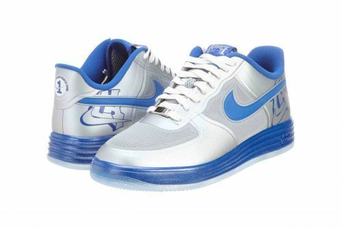 Nike Lunar Force 1 Fuse CTY Silver/Blue Men's Size 9.5 New in Box 577666 001