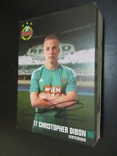 61043 Christopher Dibon Rapid Wien original signierte Autogrammkarte