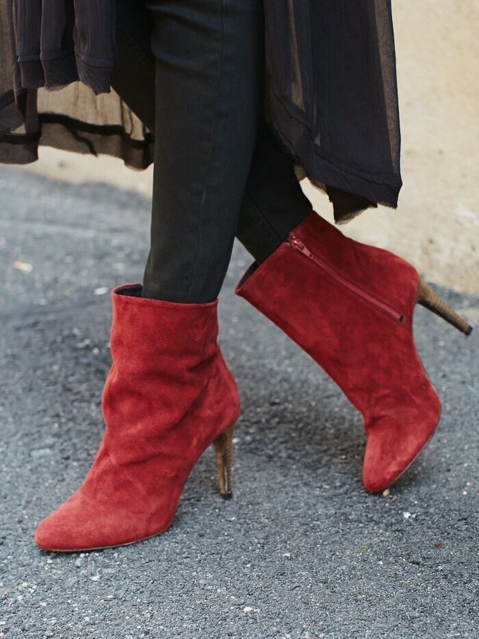 Free People Fairfax Heel Boot New Größe 8 Msrp: 178