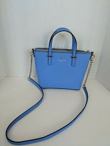 Kate-Spade-Cedar-Street-Harmony-Leather-Crossbody-Satchel-Handbag-Thistle-Blue