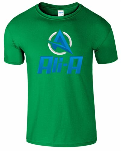 Ali-A Youtuber Mens Kids T Shirt 10 Million Gaming Youtuber Gamers Gift Tee Top