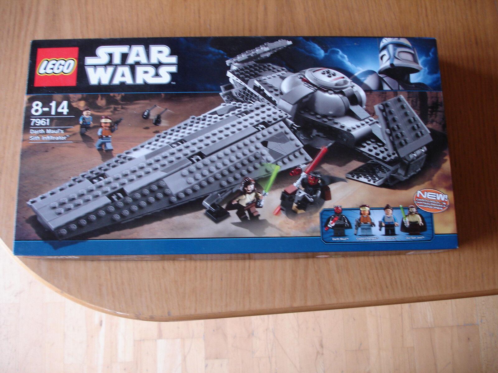 LEGO StarWars Darth Maul's Sith Infiltrator (7961)