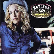 MADONNA - MUSIC CD Australian Version 2 bonus tracks