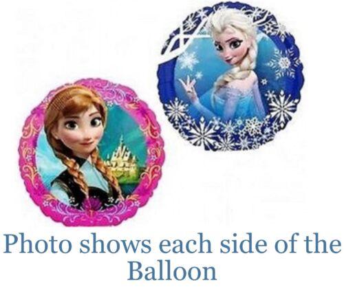 Disney Frozen Mini Foil Balloon FLAT 22cm Double Sided Design No Air