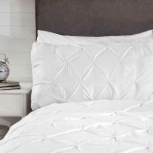 Balmoral-Broche-Rangement-Set-Housse-de-Couette-Simple-Elegant-Blanc