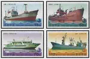 Timbres-Bateaux-Coree-3223-4-annee-2003-lot-16923