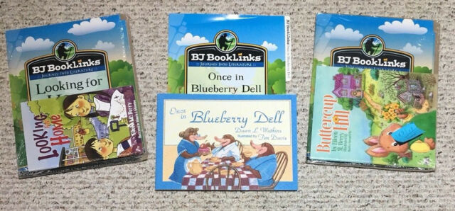BJU Bob Jones grade 1 Reading BOOKLINKS Looking for Home/Once in Blueberry Dell