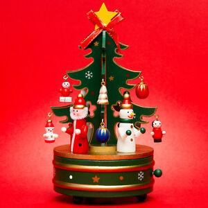Spieluhr Weihnachten.Details Zu Sikora Sd3 Holz Spieldose Spieluhr Weihnachten Weihnachtsbaum Musik Stille Nacht