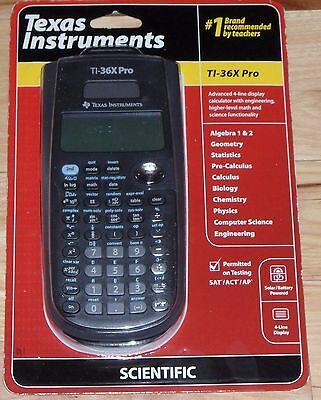 Brand New Genuine Texas Instruments TI-36X Pro Scientific Calculator Free Ship