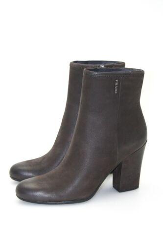 38 5 Braun Neu New Luxus 39 3t5860 Stiefelette Prada Schuhe a8v04