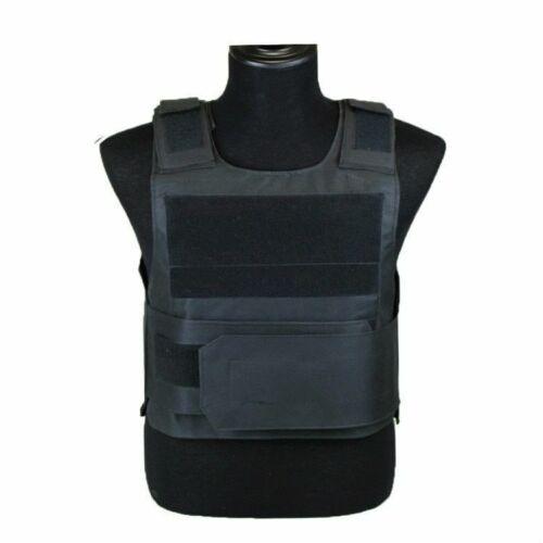 Details about  /Body Bulletproof Vest Front Back Plates Armor Tactical Jacket Guard Security Kit