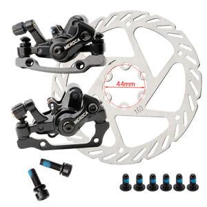 MEROCA Disc Brake MTB Bike Cycling Bicycle Front Rear Caliper 160mm Rotors