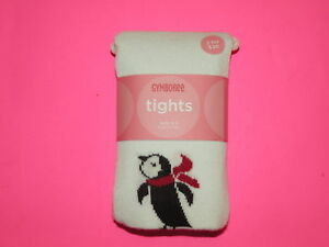 GYMBOREE-PENGUIN-CHALET-IVORY-w-PENGUIN-TIGHTS-3-4-5-7-8-9-NWT