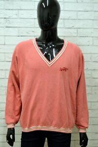 Maglione-Uomo-LEVIS-Taglia-XL-Maglia-Felpa-Pullover-Sweater-Cardigan-Man-Cotone