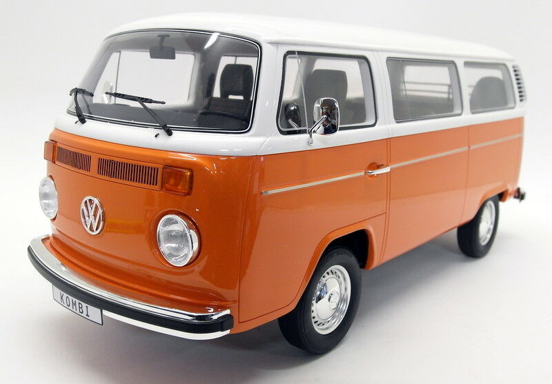 GT SPIRIT 1 12 Scale Resin g026 volkswagen t2 Combi Bay Window Camper Van Orange