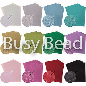 5-x-A4-Glitter-Card-250gsm-Great-Quality12-Bright-Sparkly-Colours