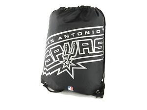 San-Antonio-Spurs-Fan-Gymbag-NBA-Turnbeutel-schwarz-Sportbeutel-45x35cm