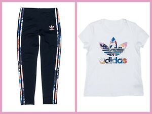 Image is loading New-adidas-Originals-GIRL-039-S-Youth-FLORAL-
