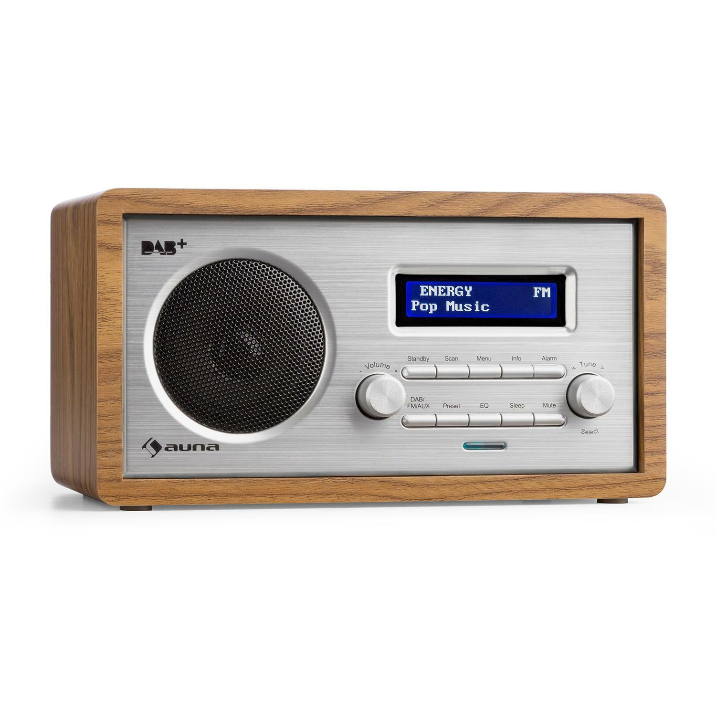 Digital Radio numérique DAB+ tuner FM Réveil double alarme alarme alarme LCD AUX - c2cedf