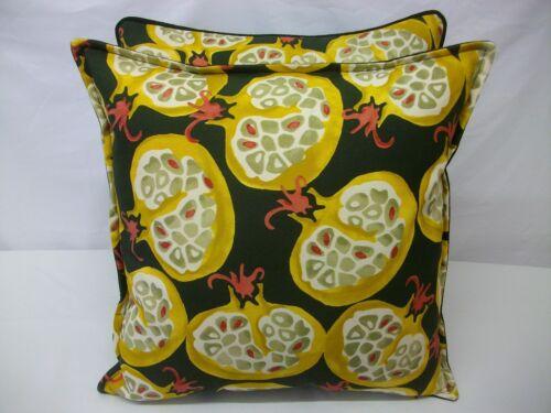 Fabuloso Cushion Covers en Emma Bridgewater pommegranate Tela Por Sanderson