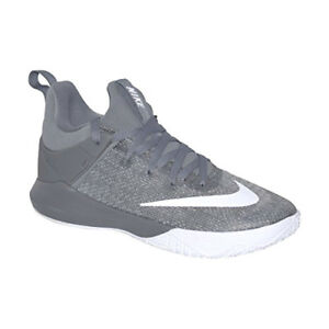 8154d5731d27 NIB MEN S NIKE 897653 001 ZOOM SHIFT COOL GREY WHITE BASKETBALL ...
