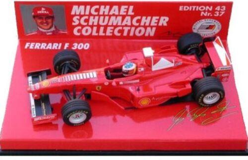MINICHAMPS Michael Schumacher Collection 1:43rd scale FERRARI F1 model race cars