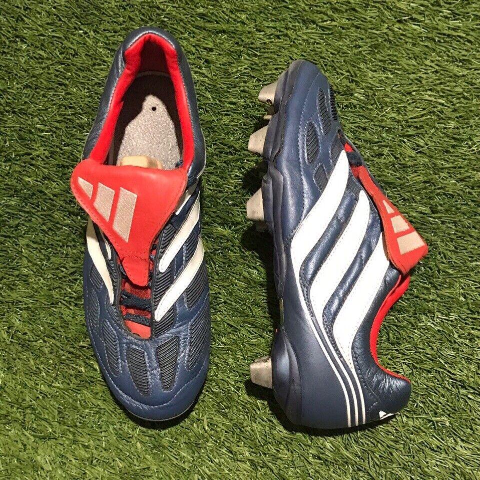 Adidas Projoator precisión SG 2000 611222 7.5 nos Zinedine Zidane Raro