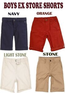 BOYS CHINO TROUSERS EX CHAINSTORE SIZES 12 MONTHS UNTIL 14 YEARS