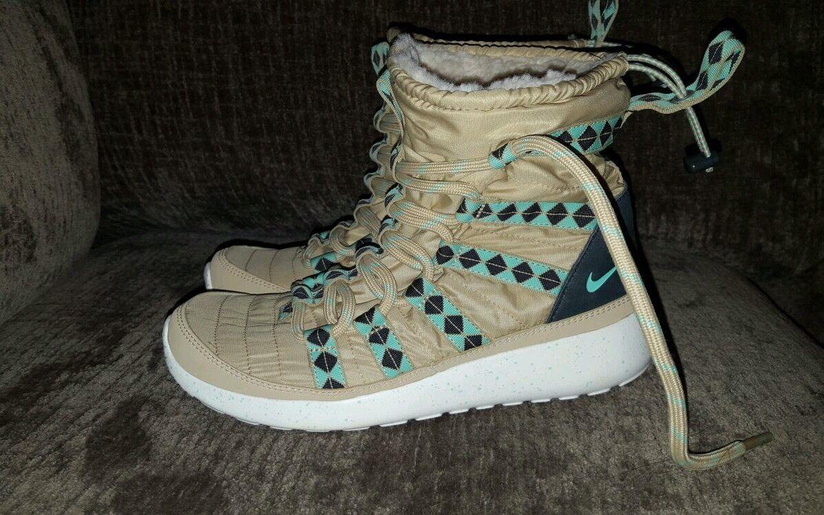 24fd9328efa4 ... Women s Nike Roshe Roshe Roshe One Hi Sneakerboot Size 5.5 Beige Style  172183 ...